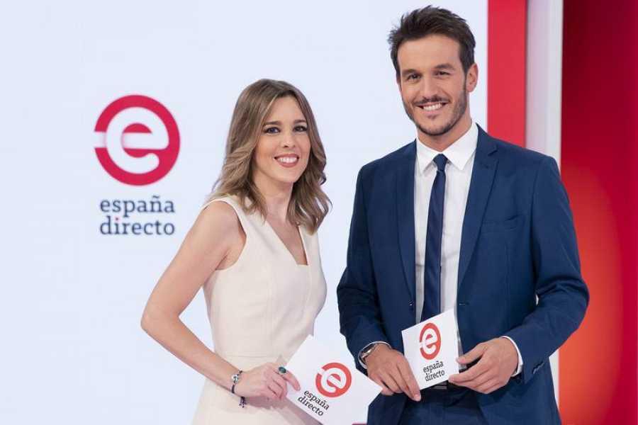 Ana Ibañez y Diego Losada presentan 'España directo'