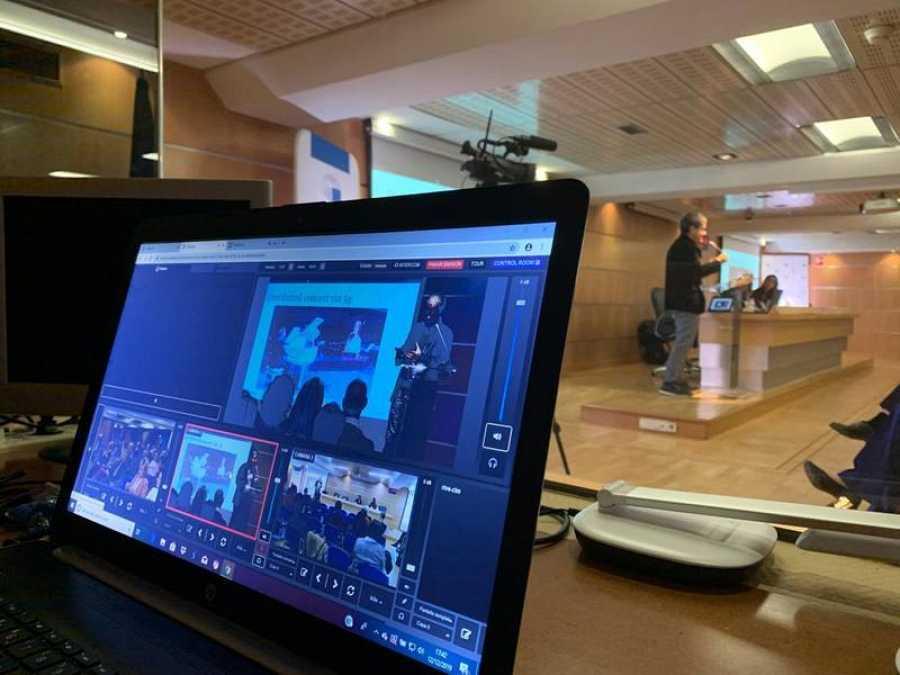 El Instituto de RTVE ha montado un punto de directo 5G en el PE