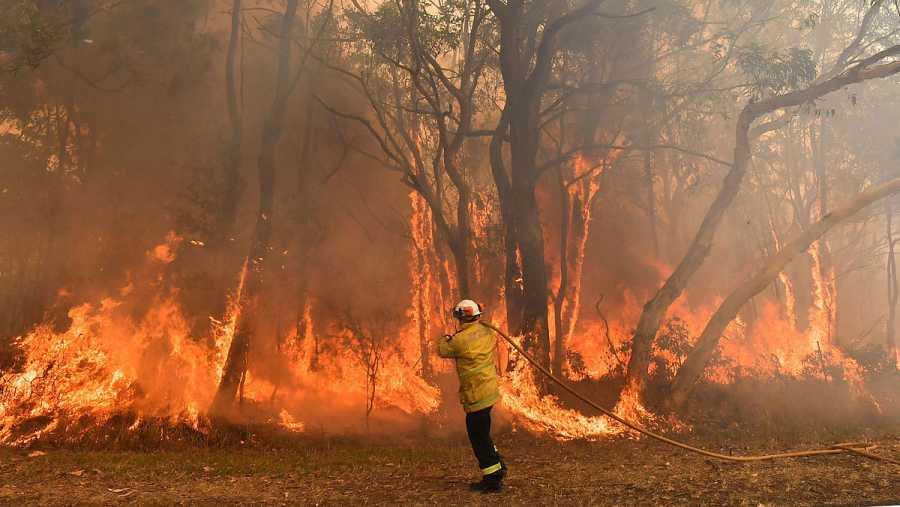 Desde noviembre, los fuegos ya han quemado una superficie mayor que Galicia.