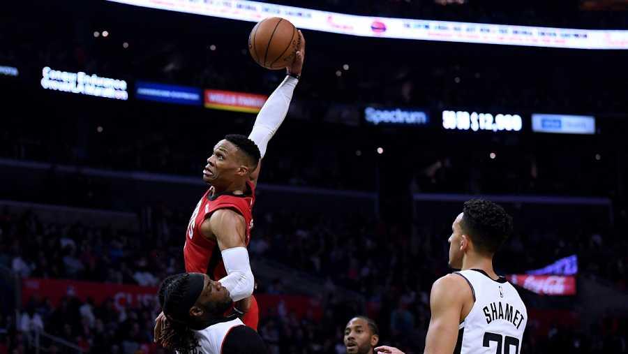 Westbrook anotó 40 puntos