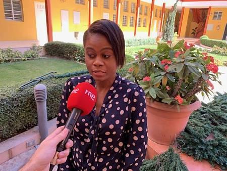 Katiana pasó tres meses en la calle tras el terremoto