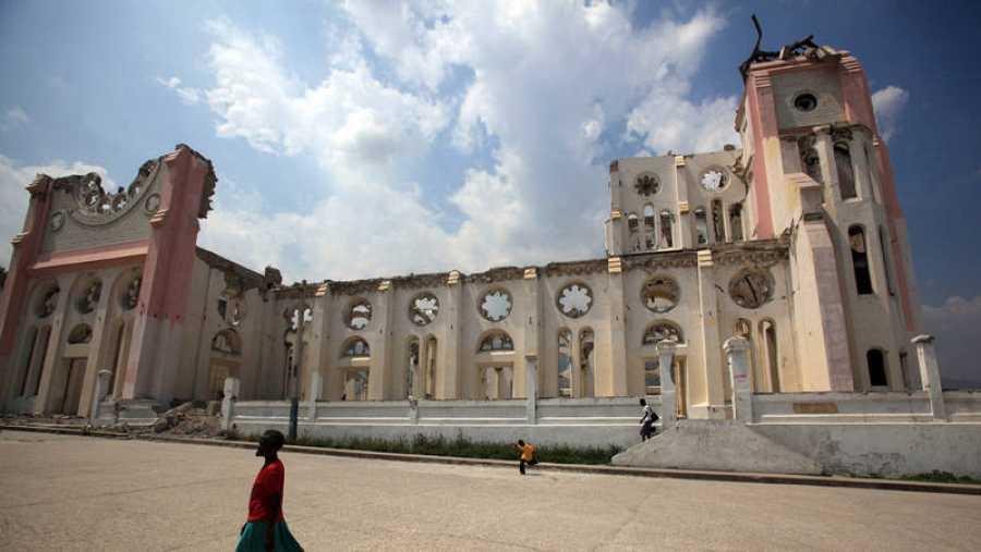 Ruinas de la catedral de Puerto Príncipe