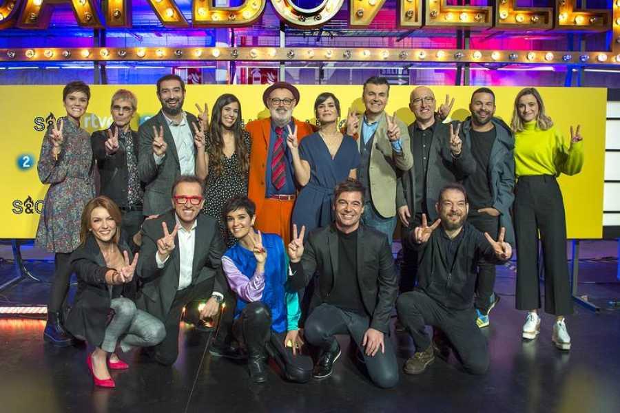 Los rostros conocidos de La 2 arropan el estreno de 'Sánchez y Carbonell'