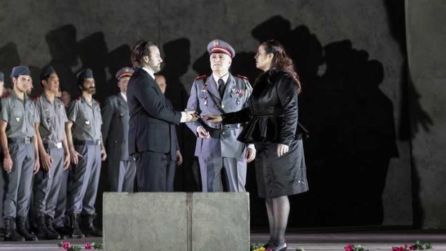 John Osborn y Roberta Mantegna en la Ópera de París: 'Les vêpres siciliennes'