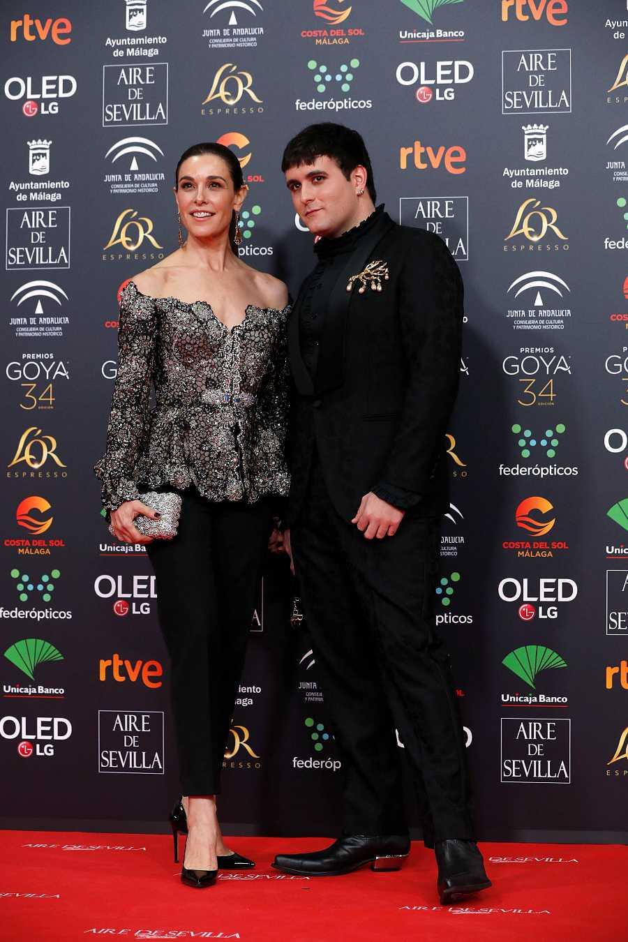 Premios Goya 2020: Raquel Sanchez Silva y Palomo Spain