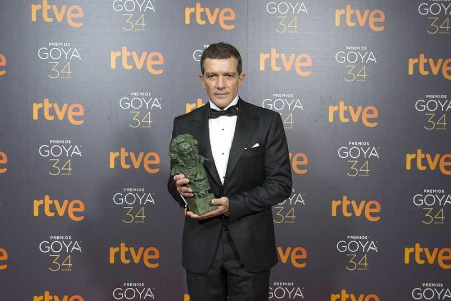 Antonio Banderas, mejor actor por Dolor y gloria