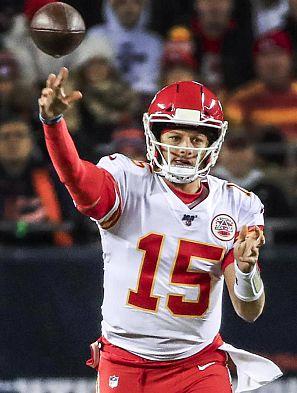 Patrick Mahomes, quarterback de Kansas.