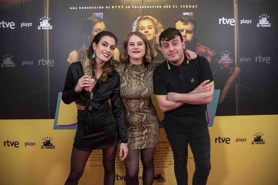 Júlia Bonjoch, Elisabet Casanovas y Artur Busquets, protagonistas de DRAMA en Playz