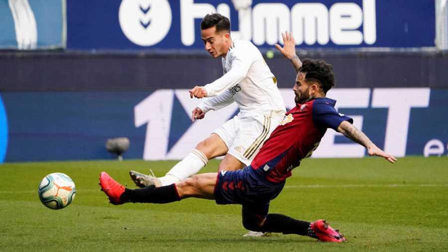 Lucas Vázquez marca el tercer gol para el Real Madrid