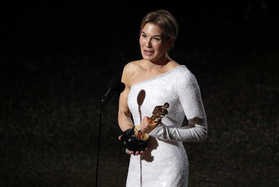 La actriz ha ganado el premio por su papel en 'Judy'.