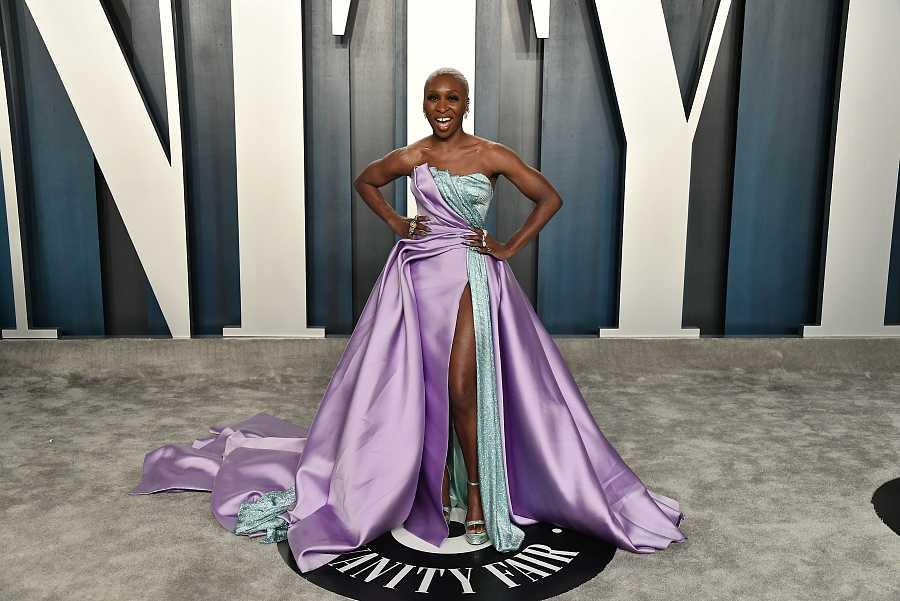 Cynthia Erivo en la fiesta Vanity Fair de los Oscar 2020
