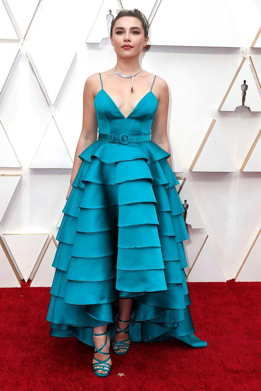 Florence Pugh en la ceremonia de entrega de los Premios Oscar