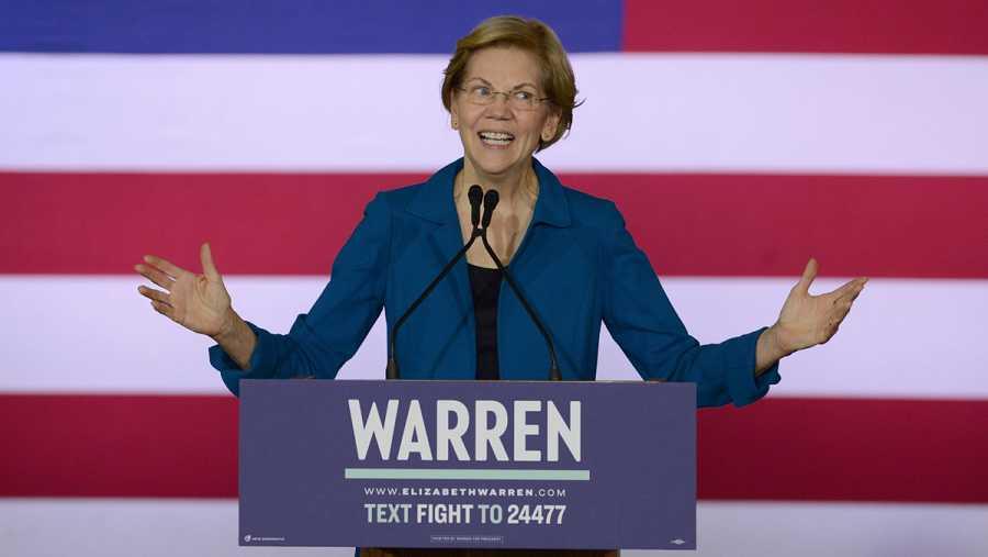Primarias demócratas: Elizabeth Warren