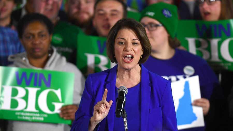 Primarias demócratas: Amy Klobuchar