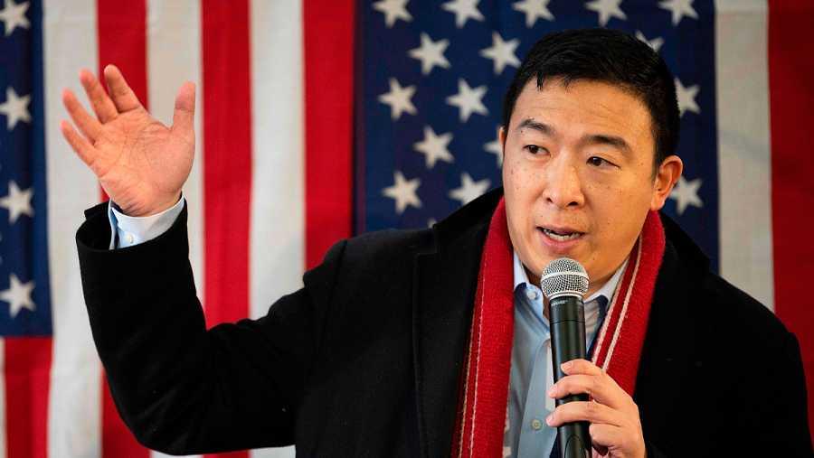 Primarias demócratas: Andrew Yang
