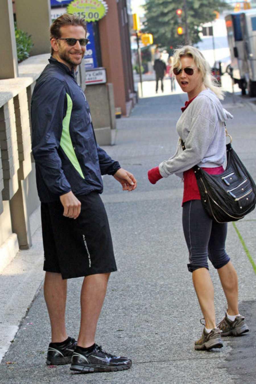 Bradley Cooper y René Zellweger cuando eran pareja