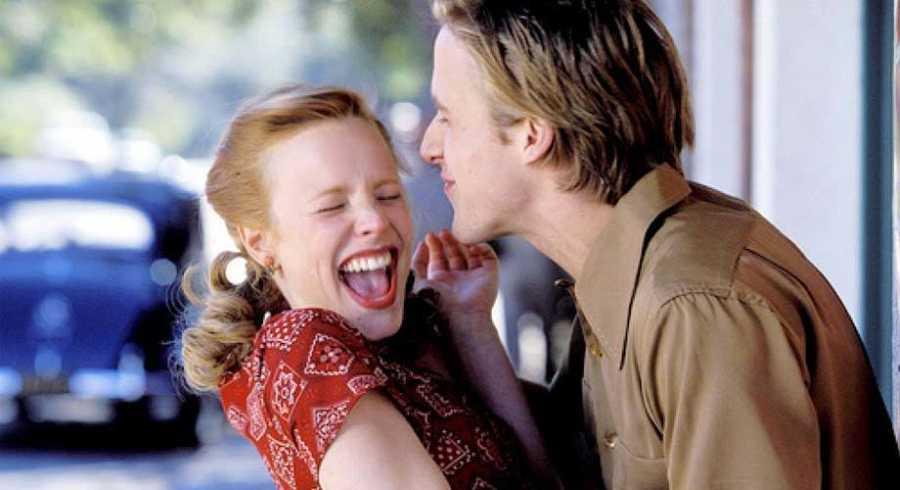 Rachel McAdams y Ryan Gosling en 'El diario de Noa'