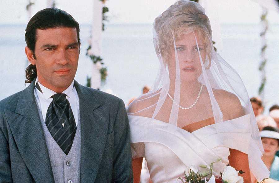 La boda de Antonio Banderas y Melanie Griffith