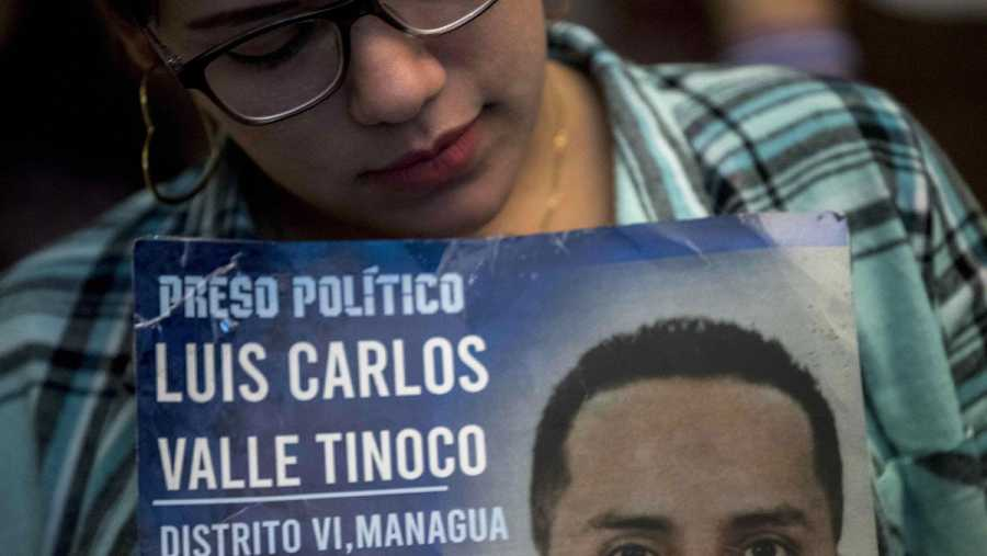 Víctimas de la crisis de Nicaragua se organizan por los presos políticos