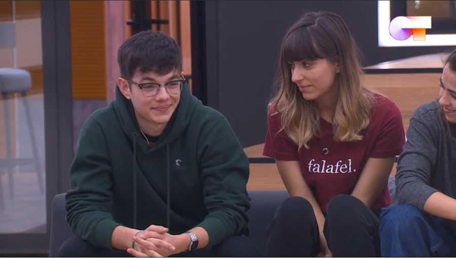 Flavio recibe elogios de Sor Lucía Caram en su visita a la Academia de Operación Triunfo
