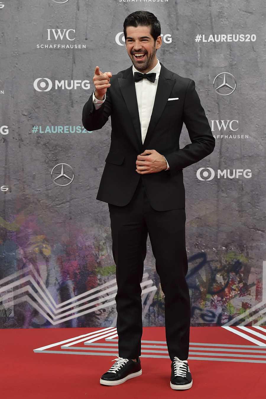 Miguel Ángel Muñoz en los Premios Laureus