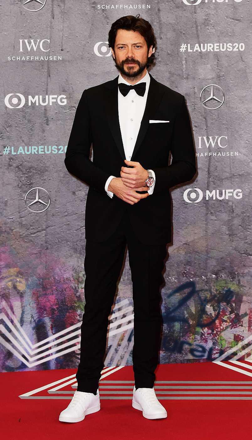 El actor Álvaro Morte en los Premios Laureus