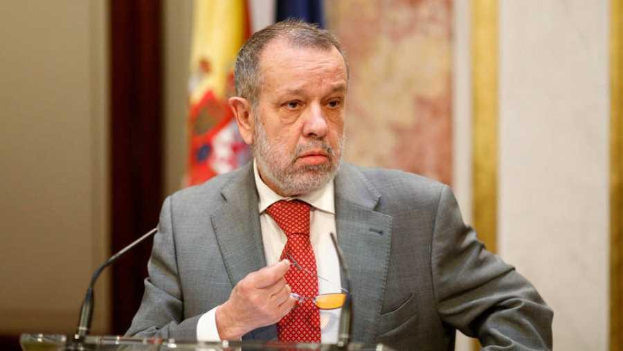 Francisco Fernández Marugán ejerce como Defensor del Pueblo en funciones desde julio de 2017.
