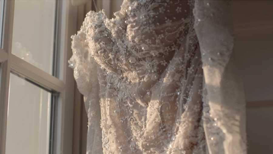 El vestido de boda de Hailey Baldwin