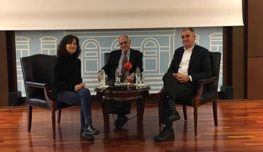 Entrevista de Mamen del Cerro al biznieto de Pérez Galdós, Luis Verde.