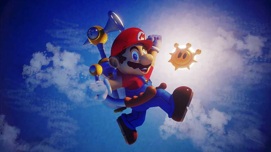 'Sunshine MARIO', una de las muchas recreaciones de la mascota de Nintendo que hay en 'Drems'.
