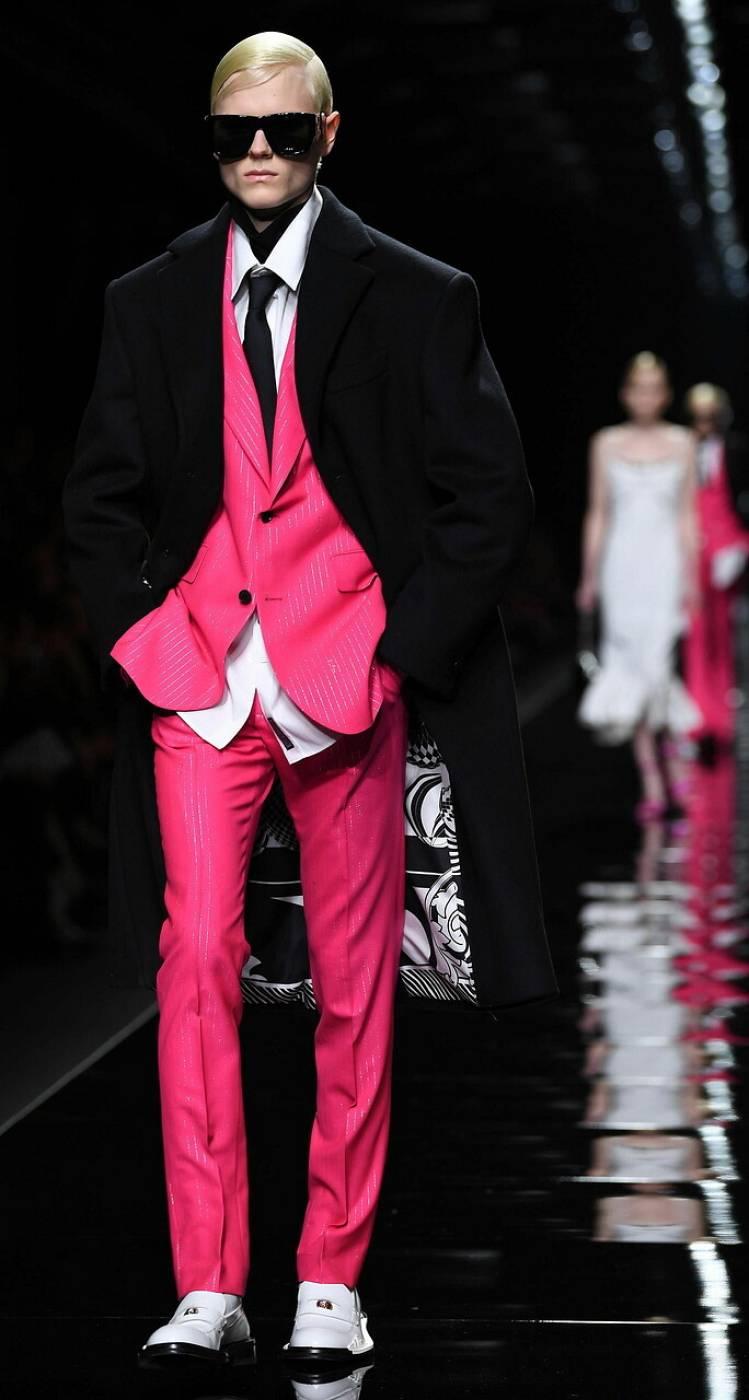 Desfile de Versace