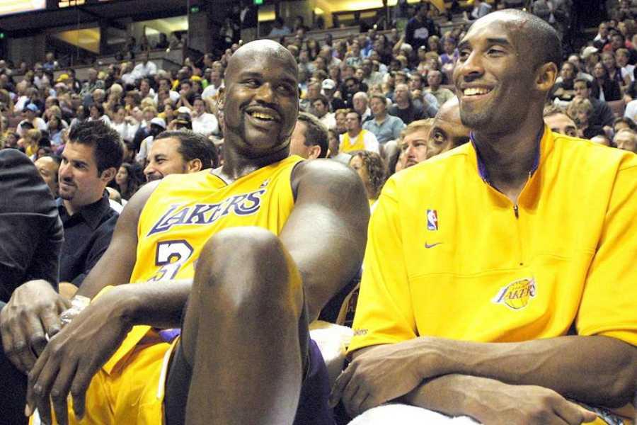 Bryant, junto a O'Neal, uno de los mejores dúos de todos los tiempos