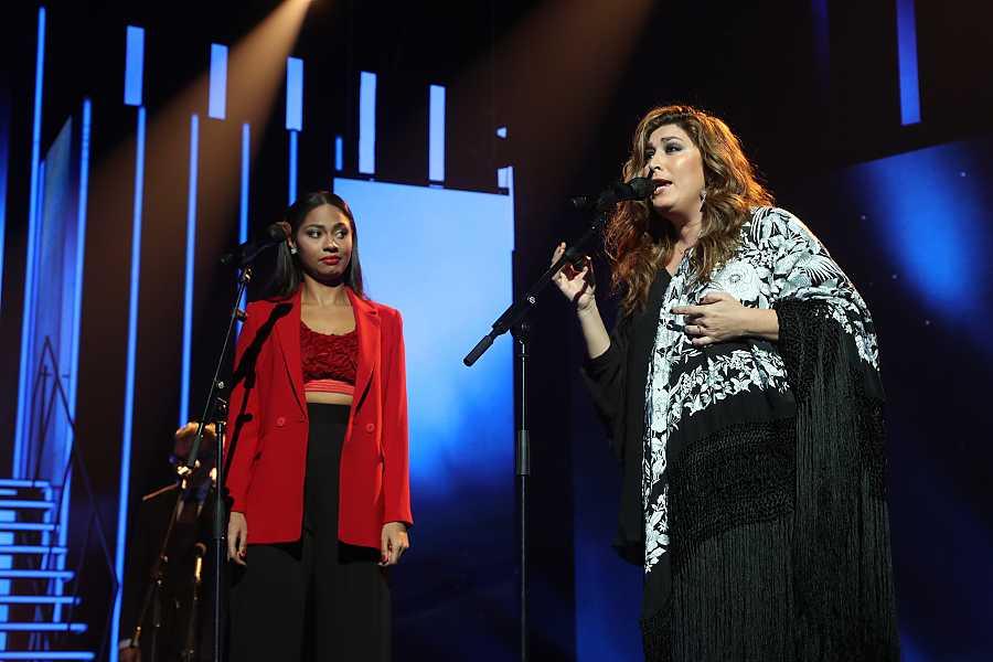 Nia y Estrella Morente cantan
