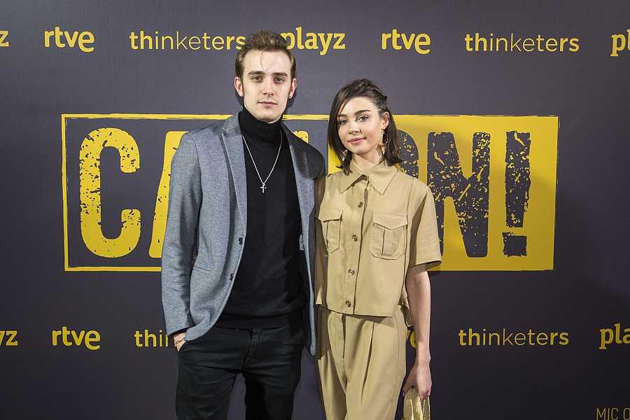 Carmen Client y Joaquín Galletero