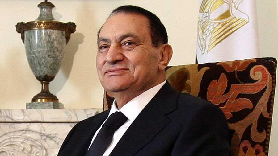 El expresidente egipcio Hosni Mubarak, en una imagen de archivo