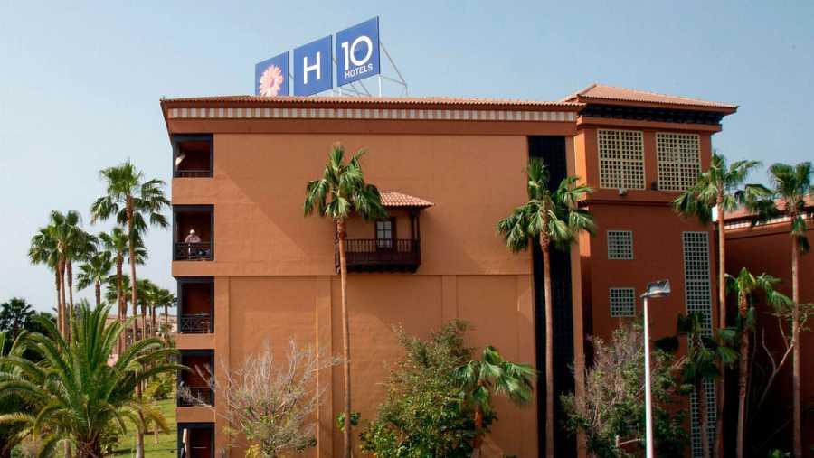 Plano general del Costa Adeje Palace Hotel, en la Candelaria, donde se han dado al menos cuatro casos de coronavirus activos en la isla de Tenerife.