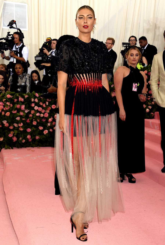 Maria Sharapova en la gala del MET de 2019
