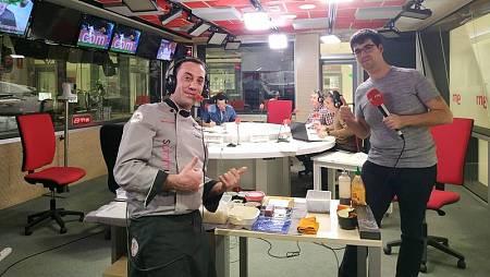 Alberto Mastromatteo nos ha enseñado a hacer sushi en directo.