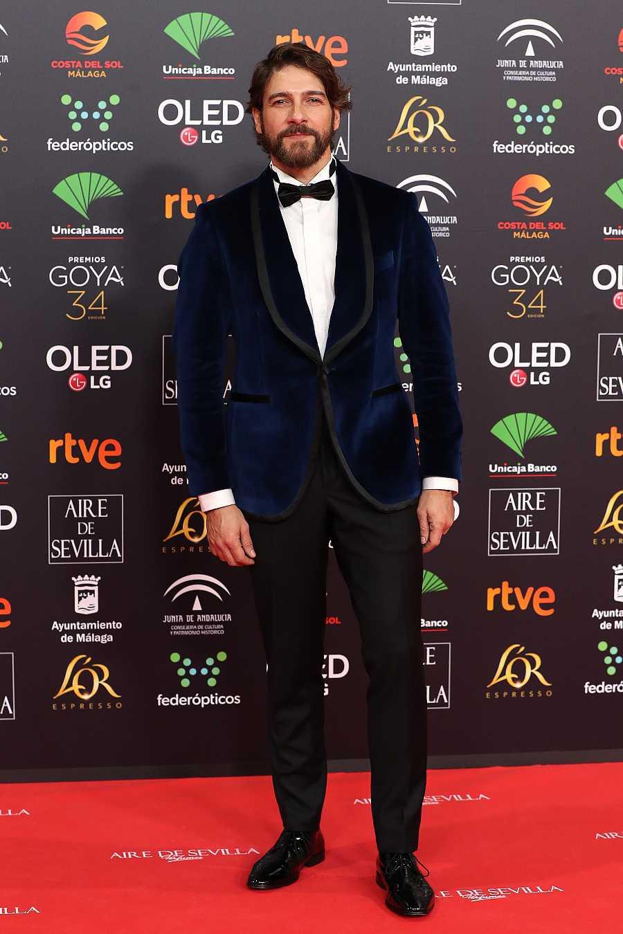 Félix Gómez en los Premios Goya 2020