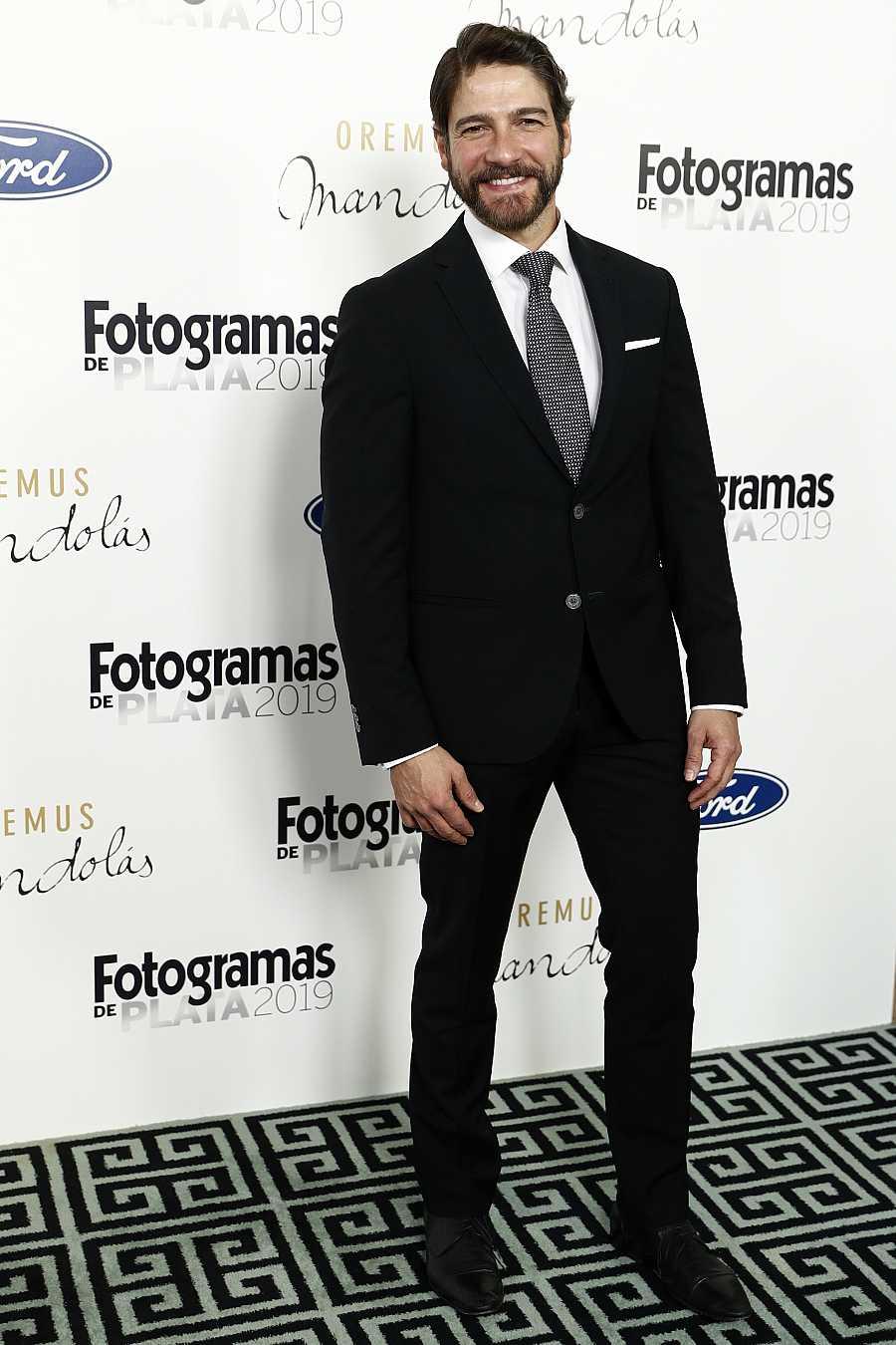 Félix Gómez en los premios Fotogramas que se celebraron en Madrid