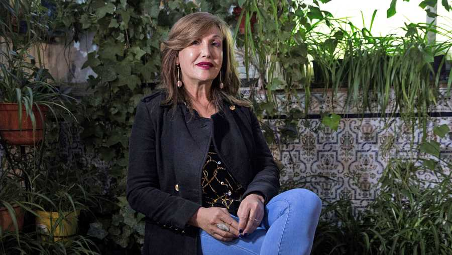 Mar Camrbollé, presidenta de la Federación Plataforma Trans y activista transexual