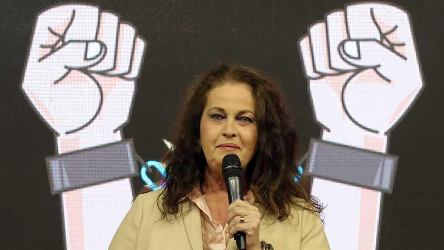 La activista transexual y diputada por la Asamblea de Madrid Carla Antonelli