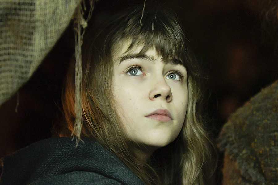 Haizea Carneros, de 12 años, es la niña protagonista