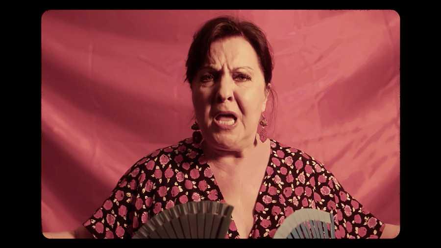 Carmen Linares, una de las protagonistas de 'Mujeres...'