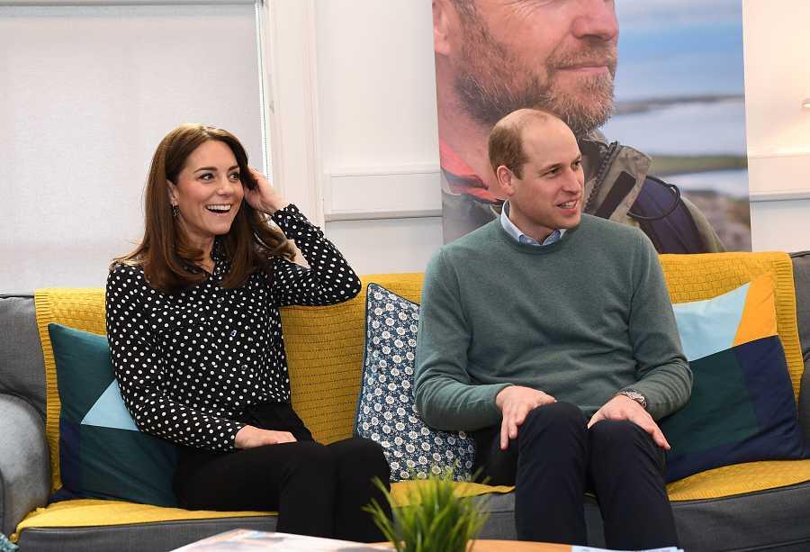Los duques de Cambrigde han visitado un centro de salud mental en Dublín