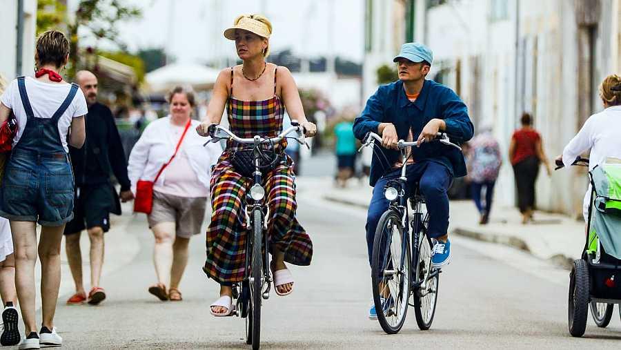 Katy Perry y Orlando Bloom, de vacaciones en Francia.