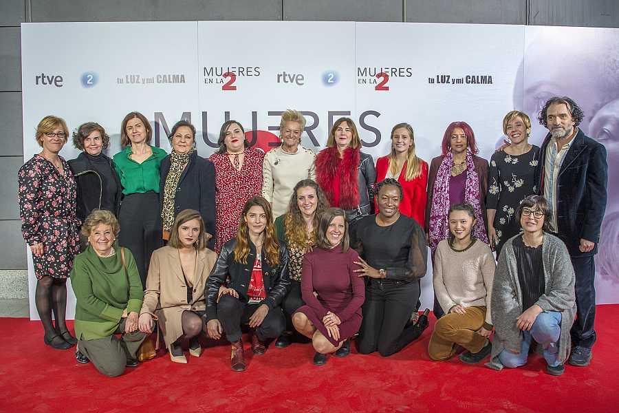 Presentación de 'Mujeres en La 2' en la semana del 8-M