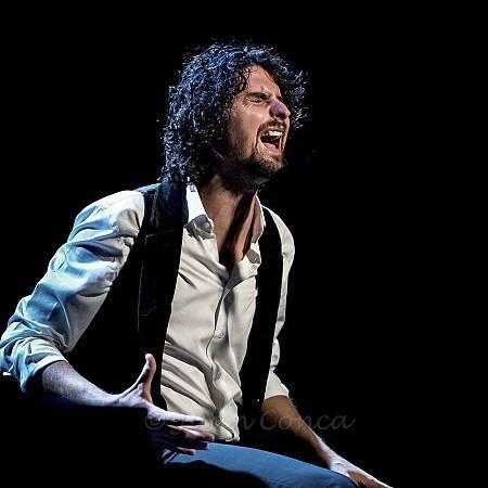El cantaor Matías López