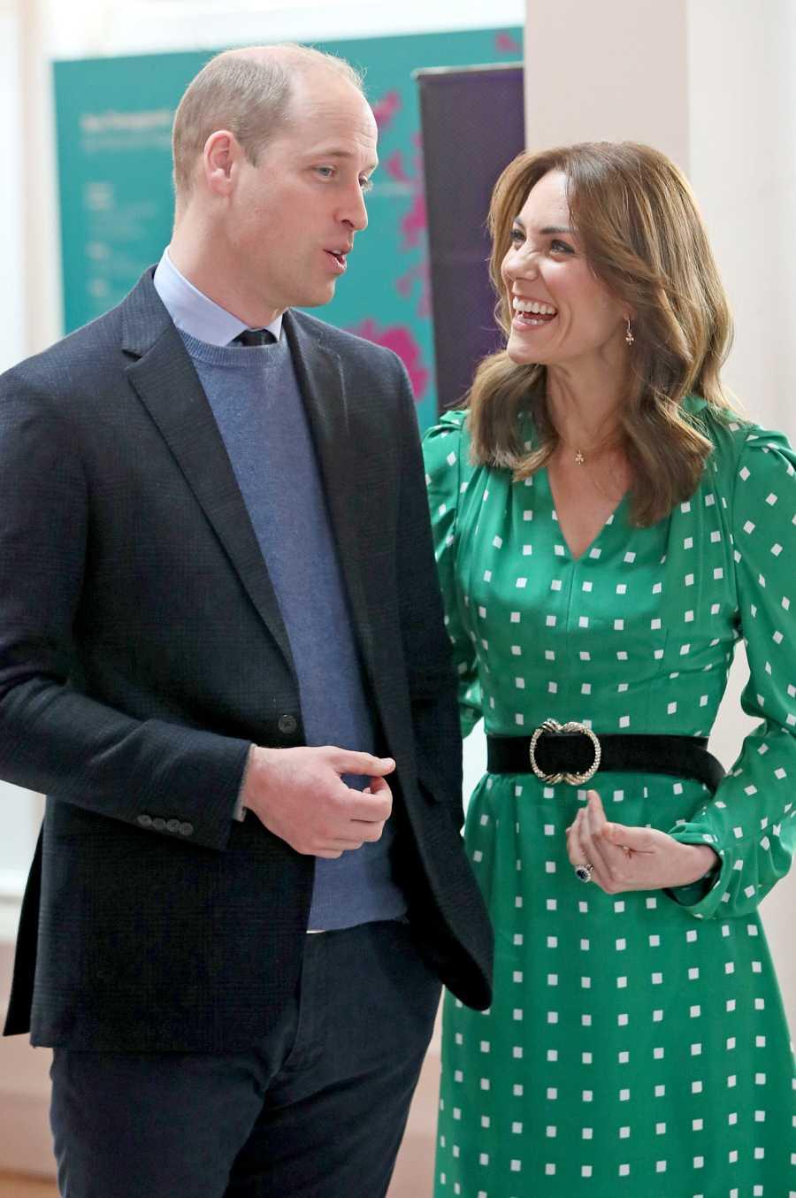 Los Duques de Cambridge se ríen durante su visita oficial a Irlanda