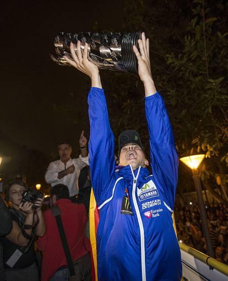 Lorenzo, tricampeón del mundo de MotoGP en 2015